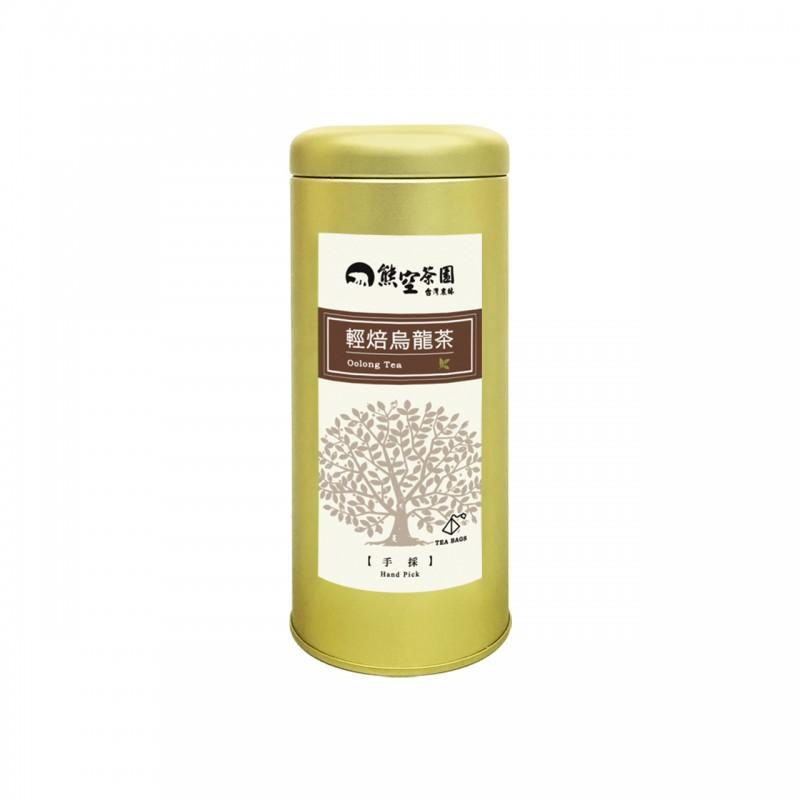 輕焙烏龍茶立體茶包(手採) 2gx12入/罐